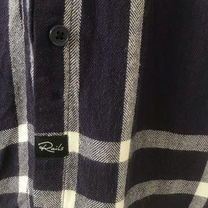 Rails Tops - RAILS • Britt sleeveless button down shirt